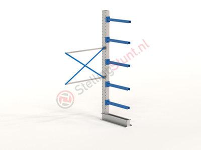 Draagarmstelling Aanbouwvak Enkel 2964x1500x800mm (hxbxd)