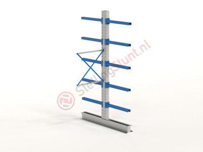 Draagarmstelling Aanbouwvak Dubbel 2964x1000x800mm (hxbxd)