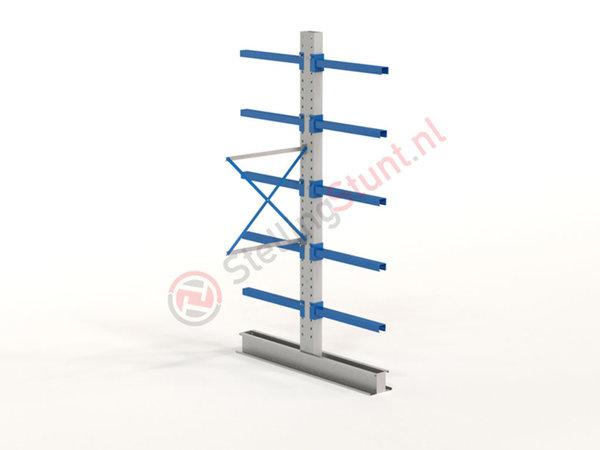 Draagarmstelling Aanbouwvak Dubbelzijdig 2964x1000x800mm (hxbxd)