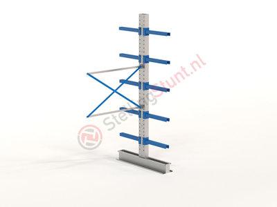 Draagarmstelling Aanbouwvak Dubbel 2964x1500x600mm (hxbxd)