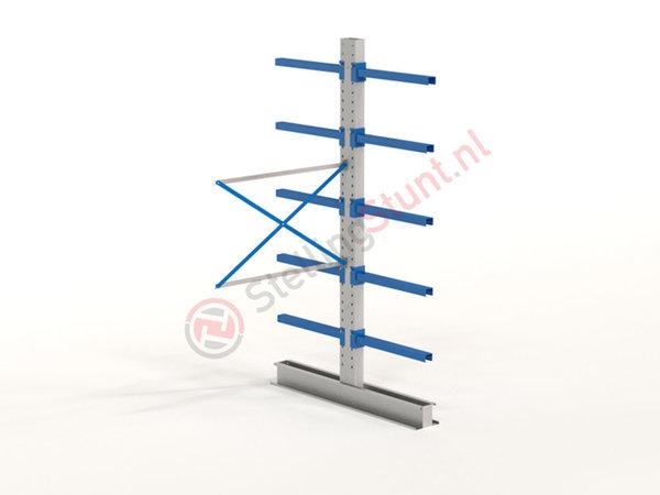 Draagarmstelling Aanbouwvak Dubbelzijdig 2964x1500x800mm (hxbxd)