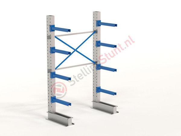 Draagarmstelling Basisvak Enkelzijdig 2432x1500x600mm (hxbxd)