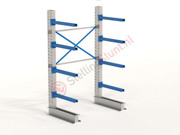 Draagarmstelling Basisvak Enkelzijdig 2432x1500x800mm (hxbxd)