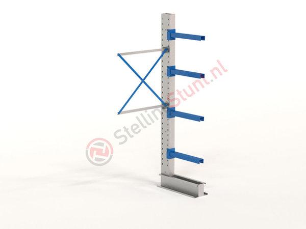Draagarmstelling Aanbouwvak Enkelzijdig 2432x1000x600mm (hxbxd)