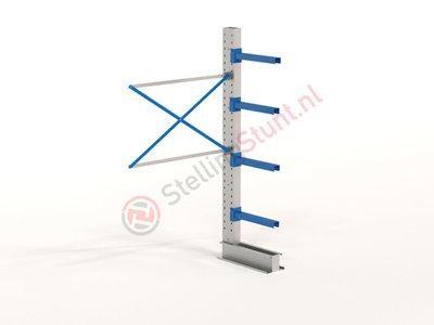 Draagarmstelling Aanbouwvak Enkel 2432x1500x600mm (hxbxd)