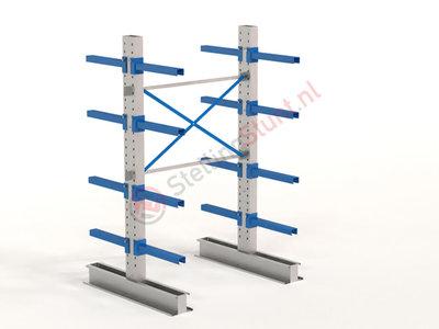 Draagarmstelling Basisvak Dubbel 2432x1500x600mm (hxbxd)
