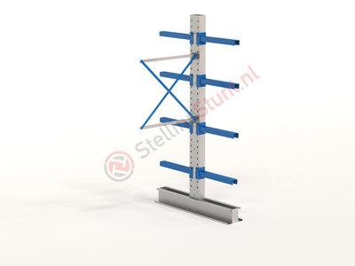 Draagarmstelling Aanbouwvak Dubbel 2432x1000x600mm (hxbxd)
