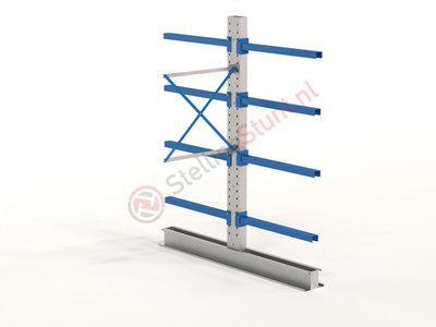 Draagarmstelling Aanbouwvak Dubbel 2432x1000x1000mm (hxbxd)