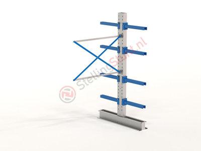 Draagarmstelling Aanbouwvak Dubbel 2432x1500x600mm (hxbxd)