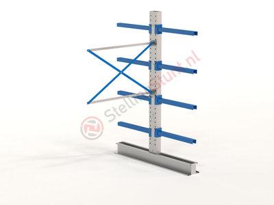 Draagarmstelling Aanbouwvak Dubbel 2432x1500x800mm (hxbxd)