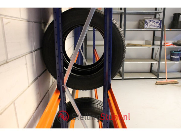 Bandenstelling Basisvak 2250x2500x400mm(hxbxd)