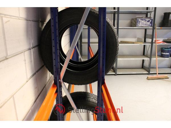 Bandenstelling Aanbouwvak 3000x1900x400mm (hxbxd)