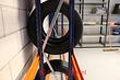 Bandenstelling Aanbouwvak 3000x2450x400mm (hxbxd)
