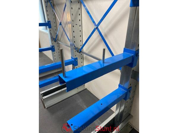 Draagarmstelling Aanbouwvak Dubbelzijdig 2432x1000x1000mm (hxbxd)