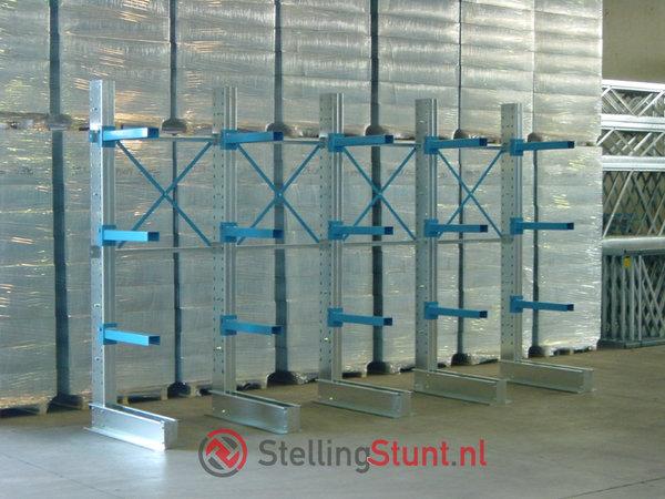 Draagarmstelling Aanbouwvak Enkelzijdig 2964x1000x800mm (hxbxd)