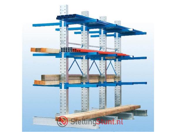 Draagarmstelling Aanbouwvak Enkelzijdig 2964x1500x600mm (hxbxd)