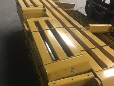Aanrijdbeschermer JH 1200x400mm geel