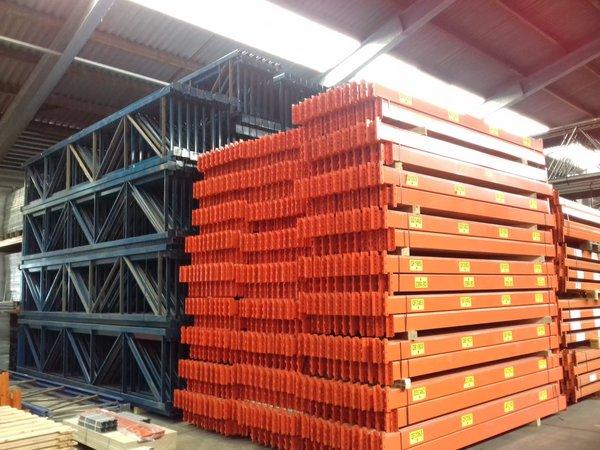 Redirack zware palletstelling / 6000x1050x80x80mm