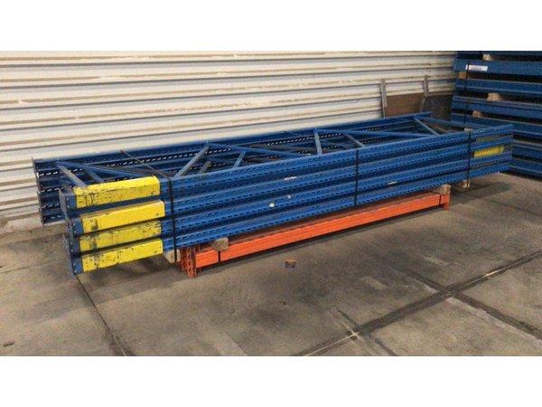 Restpartij duwic palletstelling 8.50 m lang, 1 niveau 90 cm diep