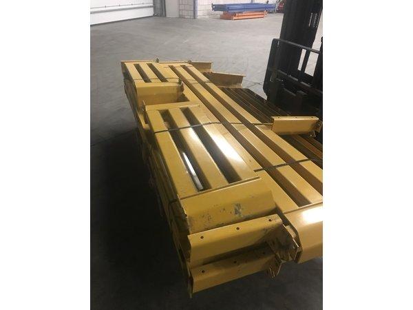 Jungheinrich Aanrijdbeschermer JH 2500x400mm geel