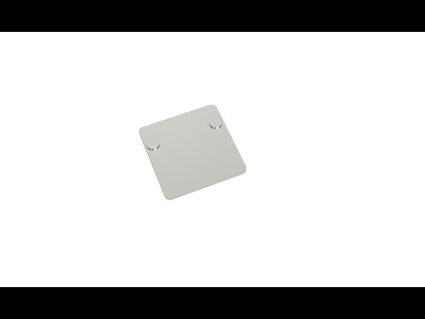 Voetplaat staal klein (enkel) new