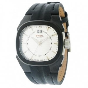 Breil Watch Band Breil Milano Eros Black Leather BW0417