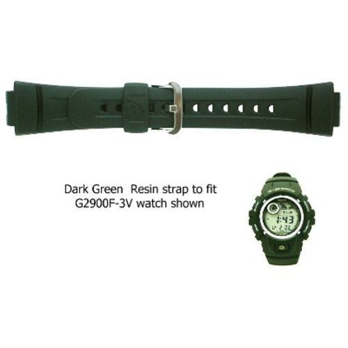 Casio Watch strap G-shock G-2900F3V