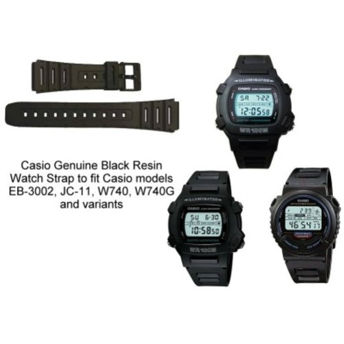 Casio Watch strap JC-11, W-740, EB-3002
