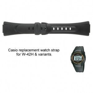 Casio Watch strap W-43H
