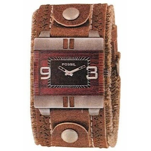 Fossil JR Watch strap JR-9535 Bruin