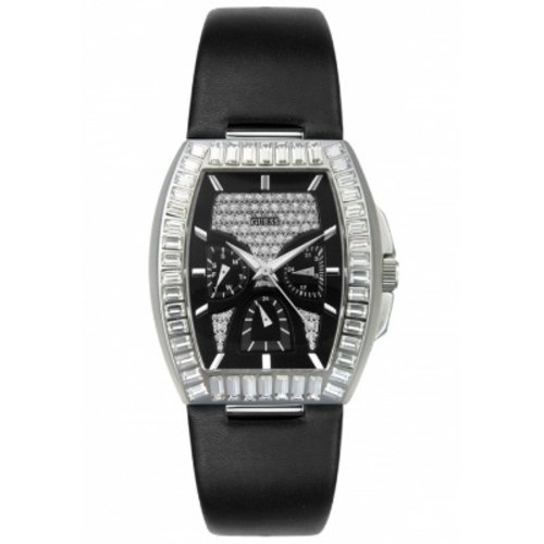 Guess Watch strap W18532L1 Swarovski Crystal black
