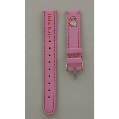 Hello Kitty Watch strap Hello Kitty tekst lichtroze