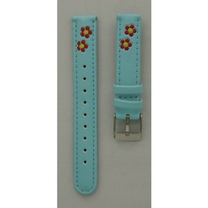 Hello Kitty Watch strap Hello Kitty light blue flower