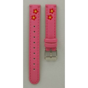 Hello Kitty Horlogeband Hello Kitty roze rode bloem
