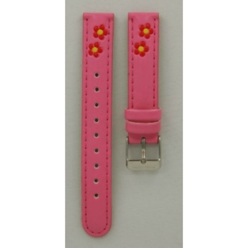 Hello Kitty Watch strap Hello Kitty pink red flower