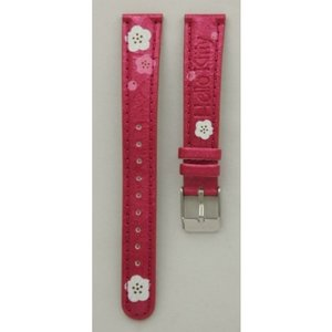 Hello Kitty Horlogeband Hello Kitty metallic fuchsia
