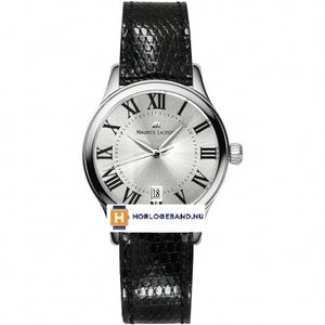 Maurice Lacroix Watch strap lizard 14mm black
