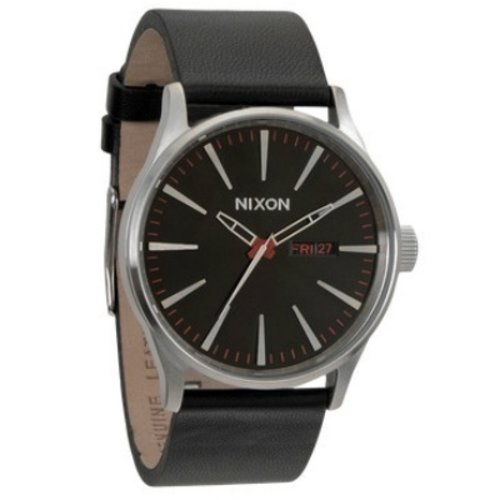 Nixon Watch strap The Sentry leather