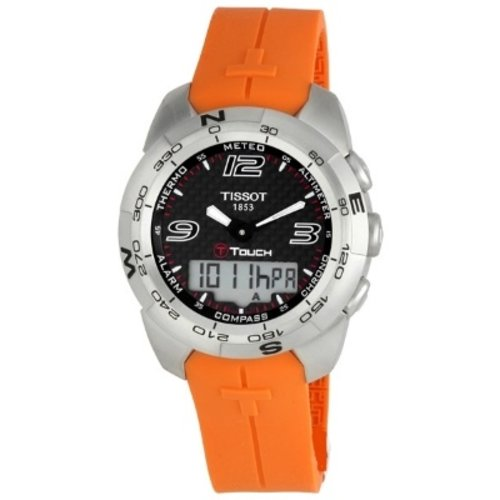 Tissot Watch strap T-Touch Expert T047.420.1 orange