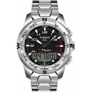 Tissot Horlogeband T Touch Staal T013420A - T013.420.44.207.00 21.5mm