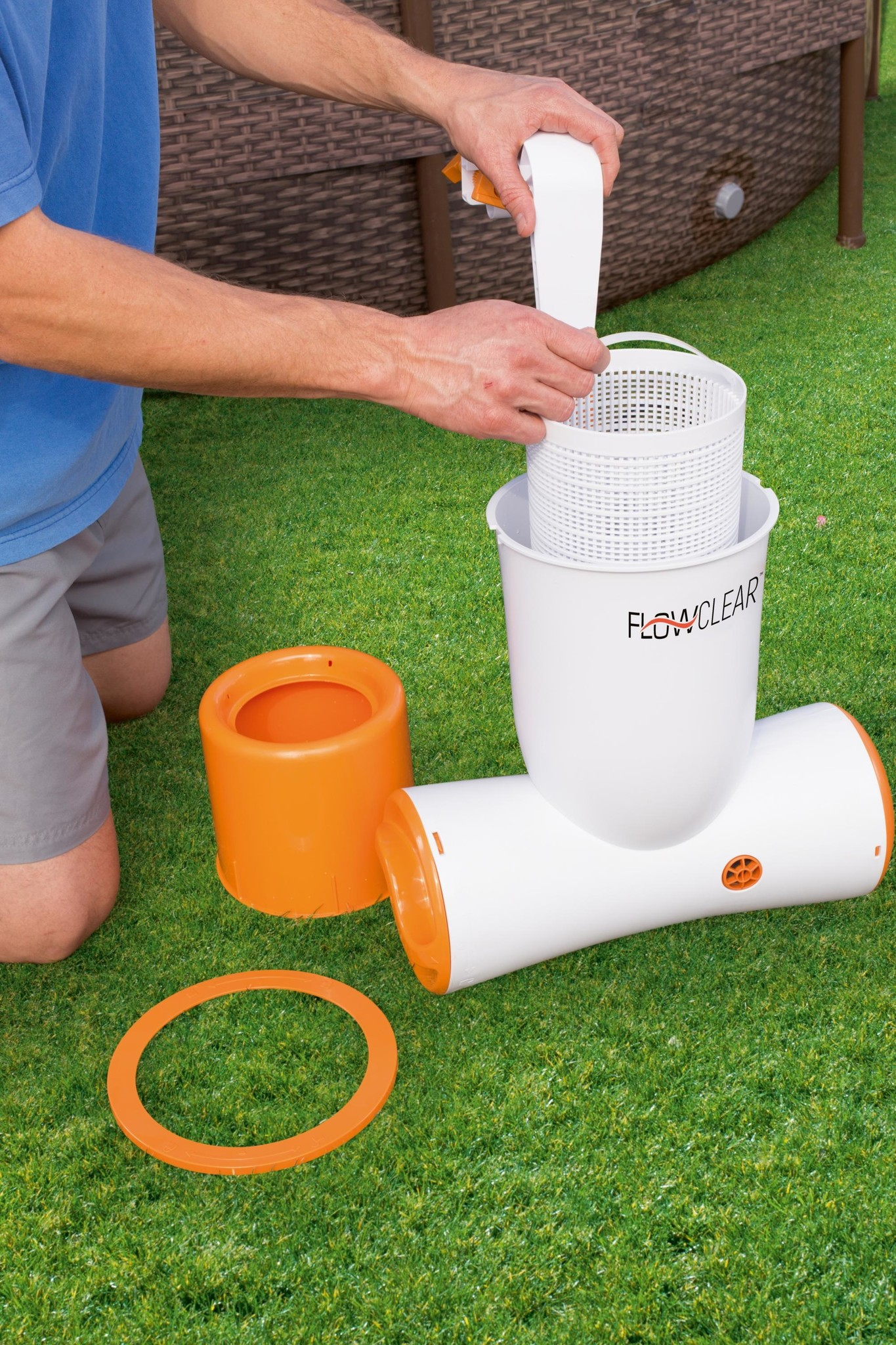 Pompe filtrante skimatic Bestway / Flowclear-2