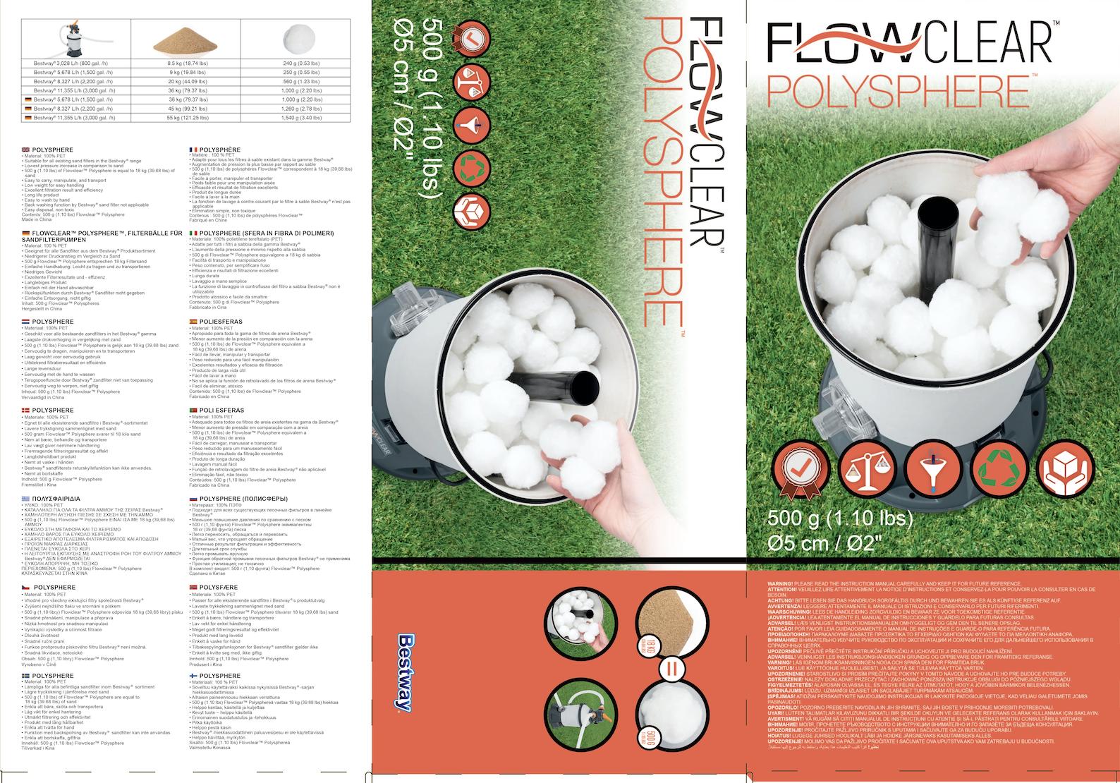 Polysphere Flowclear/ Bestway-2