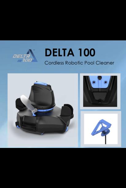 Robot aspirateur automatique sans fil Delta 100 pour piscine