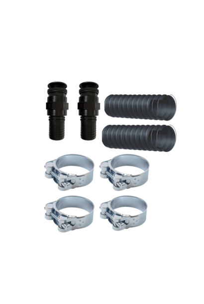 Complete coupling set for hot tub
