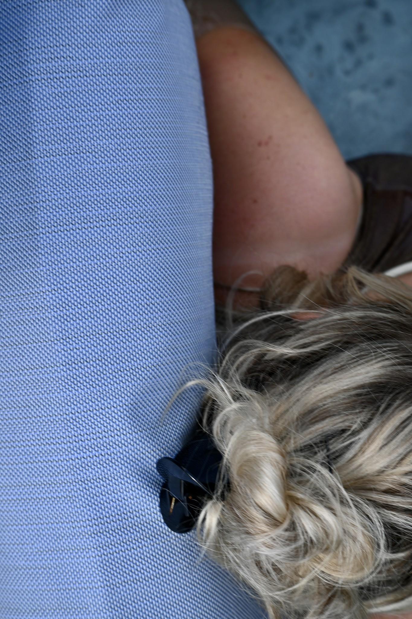 Badesofa kussen hemelsblauw-3
