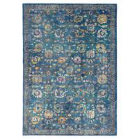 Picasso Sarough Vintage Vloerkleed Blauw Laagpolig