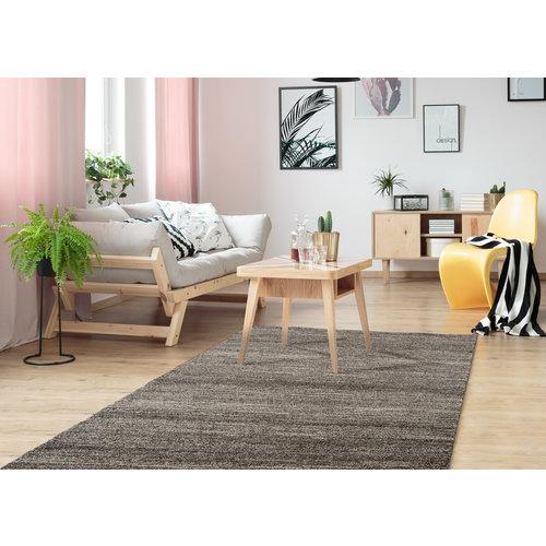 Loftline Design Collection Loft Effen Bruin vloerkleed Laagpolig