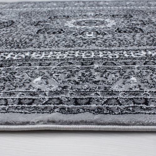 Marrakesh Marrakesh Nahal Oosters Vloerkleed Grijs Laagpolig