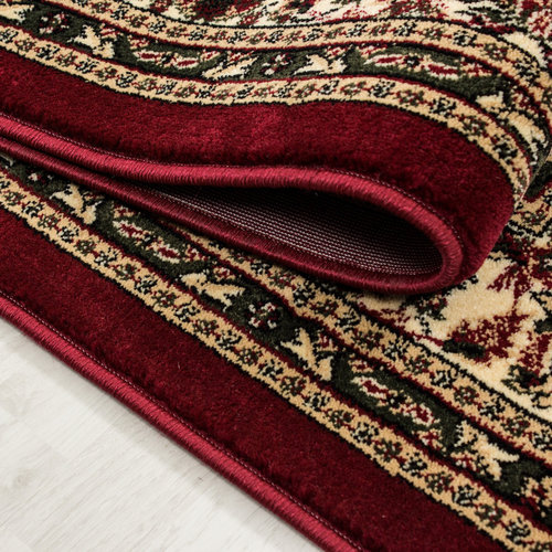 Marrakesh Marrakesh Neizar Oosters Vloerkleed Rood Laagpolig
