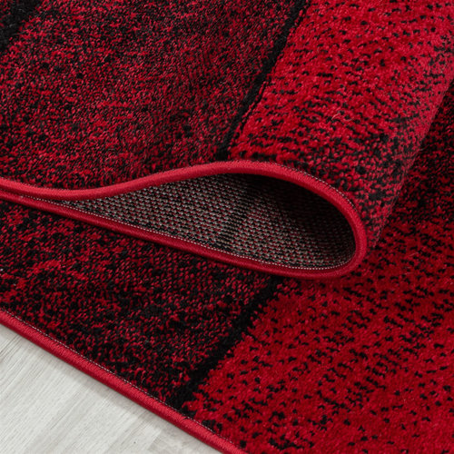 BETA Beta Vloerkleed Rood Laagpolig